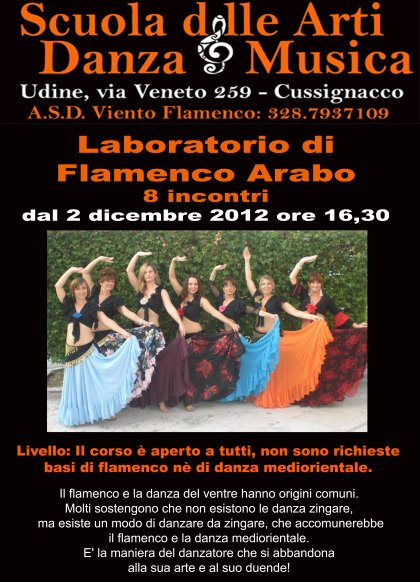 Laboratorio di Flamenco Arabo