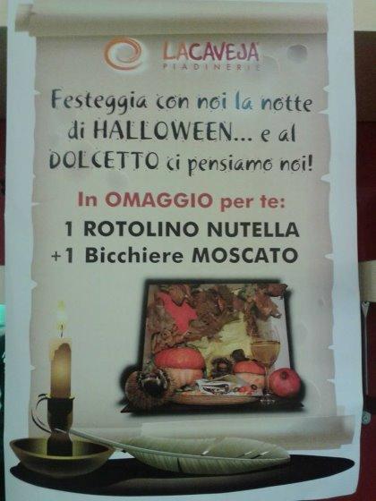 Halloween a La Caveja, per voi un dolcetto, altro che scherzetto!