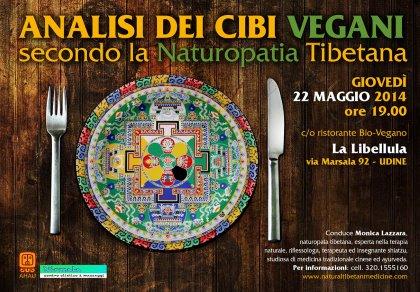 Analisi dei cibi vegani secondo la naturopatia tibetana