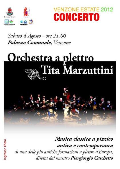 Concerto dell' Orchestra a plettro Tita Marzuttini