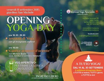 OPENING YOGA DAY