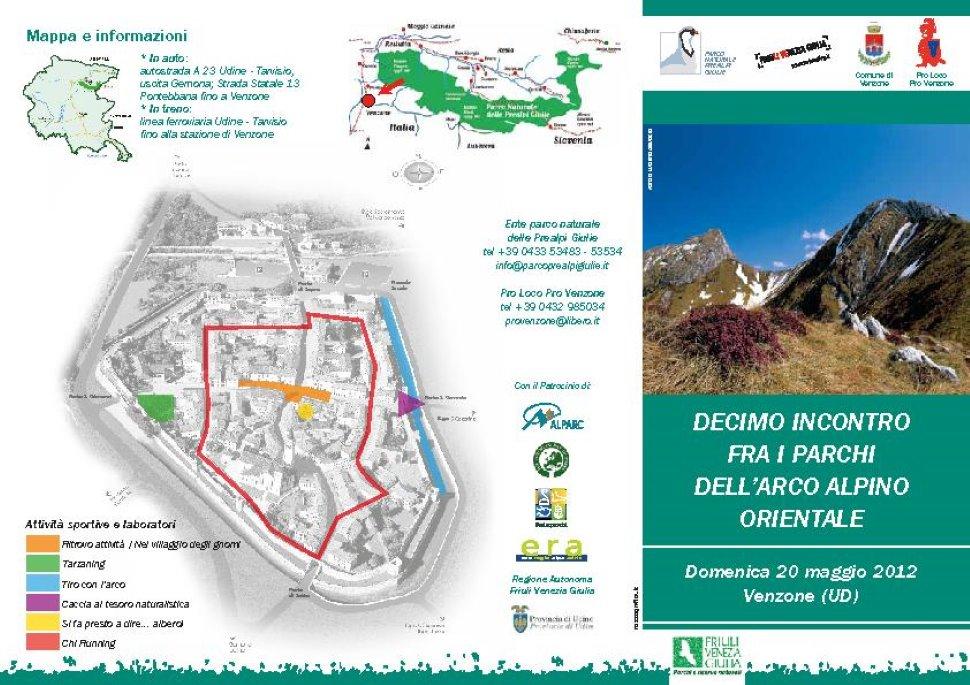 Parkfest a venzone con dieci parchi arco for Lago arredo cittadella