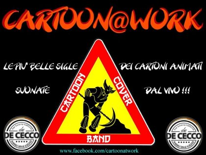 CARTOON@WORK.....CARTOON COVER BAND!