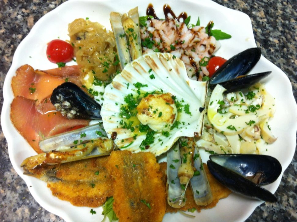 Antipasti di pesce for Antipasti di pesce