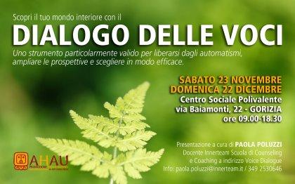 DIALOGO DELLE VOCI - Corso di counseling