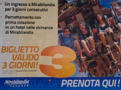 Proposta per il fine settimana: MIRABILANDIA + Hotel?