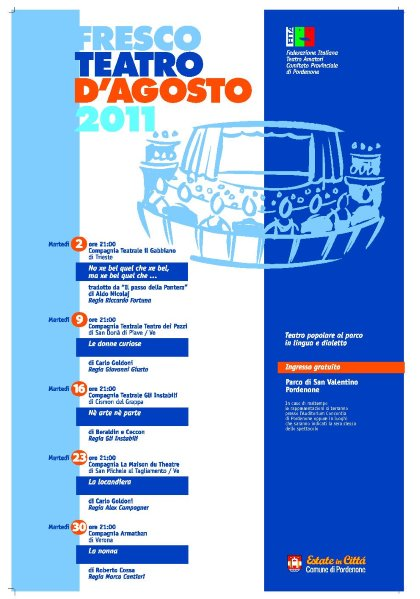 FRESCO TEATRO D,AGOSTO 2011