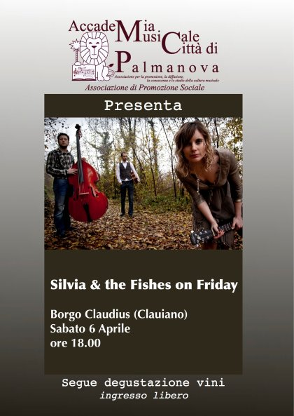 Trio Folk Silvia & Fishes on Friday