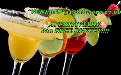 APERITIVIAMO & FREE BUFFET!