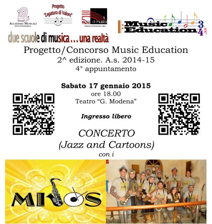 Music Education, 2^ edizione. Quarto appuntamento