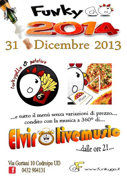 Festa di Fine Anno al FunkyGo Codroipo UD