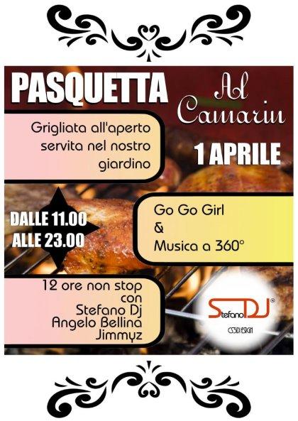 Festa di Pasquetta con le fantastiche go go girls