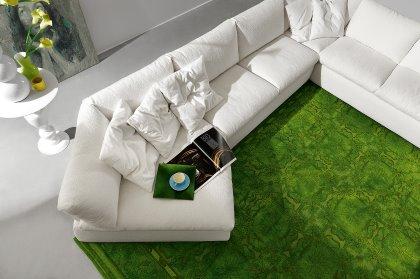 divano componibile varie forme e tessuti