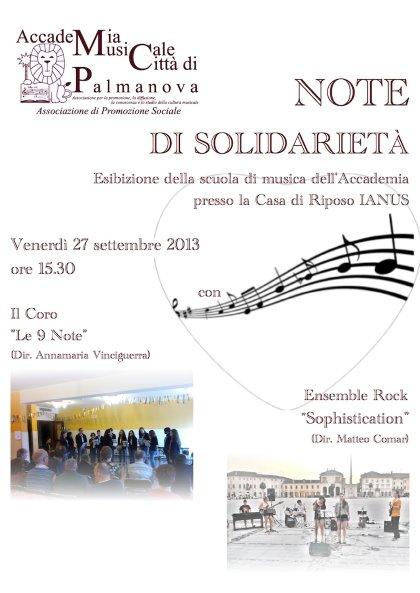 Note di solidarietà