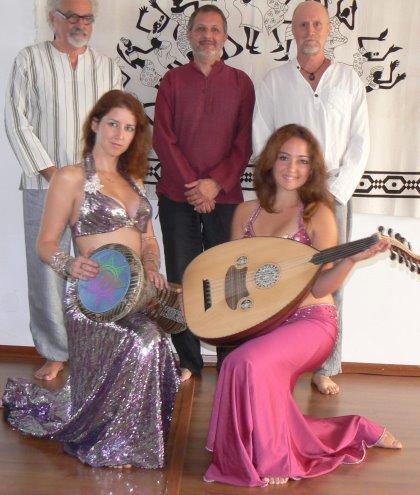 """""""RAQS SHARQI"""" danze mediorientali con musiche dal vivo"""
