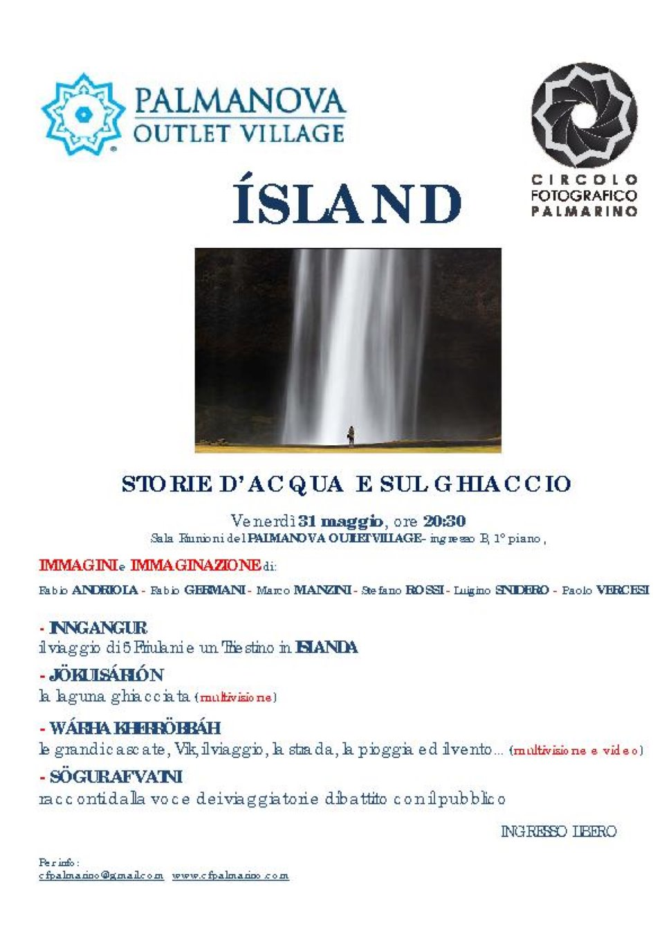 ÍSLAND - STORIE D'ACQUA E SUL GHIACCIO