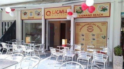 LA CAVEJA a Lignano Pineta per deliziarvi con le sue PIADINE anche al MARE!