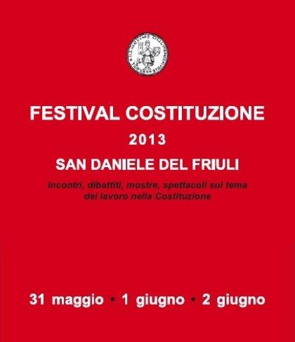 FESTIVAL COSTITUZIONE 2013