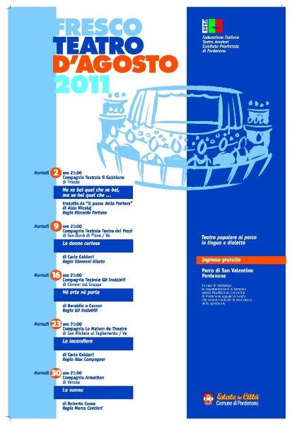 FRESCO TEATRO D'AGOSTO 2011