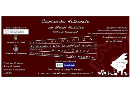 Concorso Nazionale per giovani musicisti e Premio Pianistico Internazionale