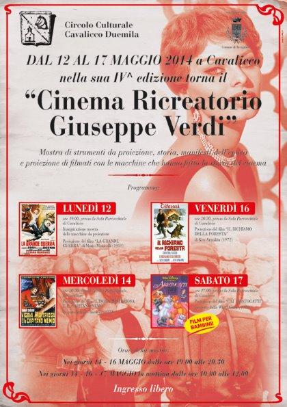 cinema ricreatorio GIUSEPPE VERDI