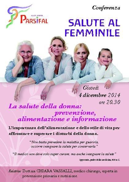 SALUTE AL FEMMINILE