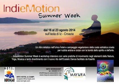 IndieMotion Summer Week