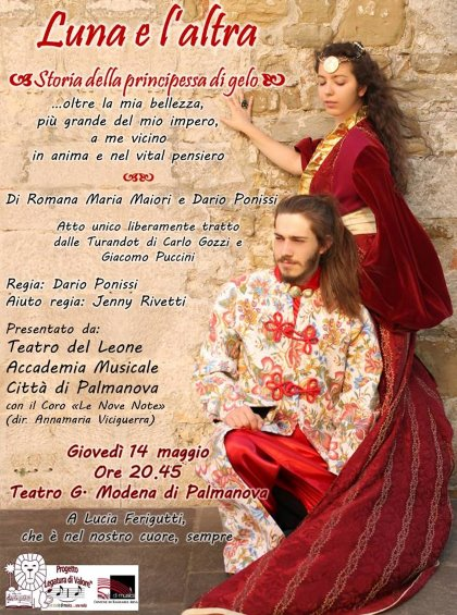 Luna e l'altra. Spettacolo tetrale tratto dalla Turandot di G. Puccini. Ingresso gratuito.