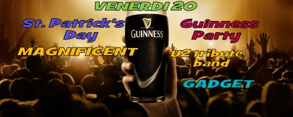 ST.PATRICK'S DAY@MAGNIFICENT U2 TRIBUTE BAND