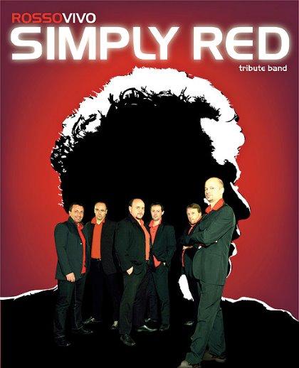 Colora la tua serata ROSSOVIVO! SIMPLY RED TRIBUTE BAND