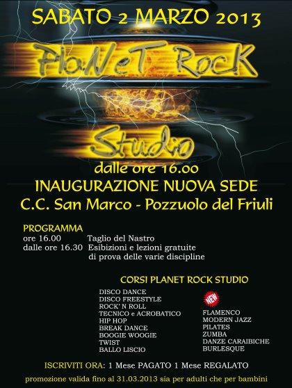 INAUGURAZIONE NUOVA SEDE Planet Rock Studio