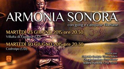 ARMONIA SONORA con gong e campane tibetane