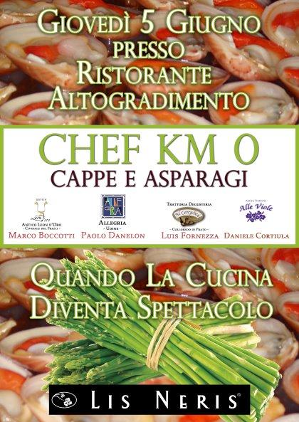 CHEF KM 0 Cappe & Asparagi