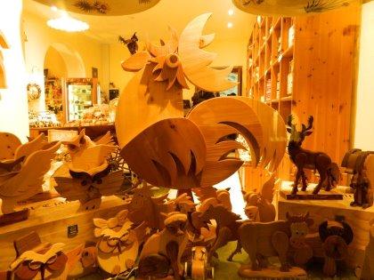 Creazioni in legno dal nostro artigiano...