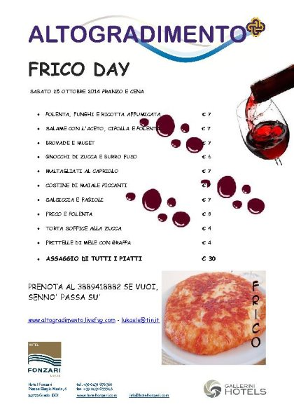 FRICO DAY