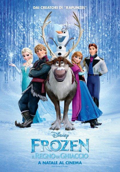 Proiezione di Frozen: il regno di ghiaccio