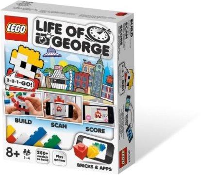 LEGO Life of George, il primo gioco a combinare le costruzioni LEGO con il tuo cellulare.