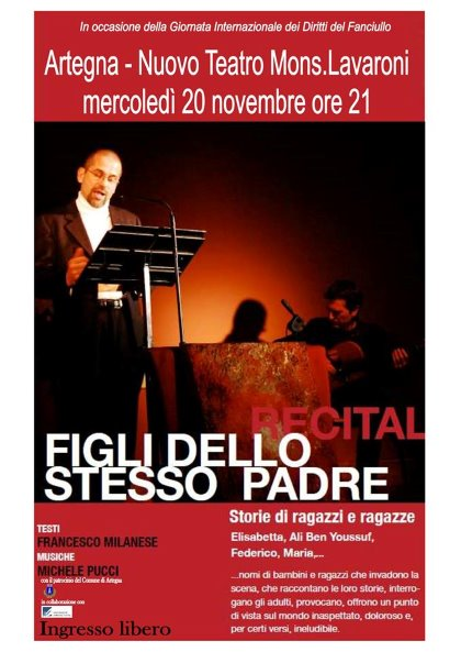 recital FIGLI DELLO STESSO PADRE