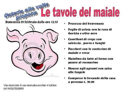 Le Tavole del maiale
