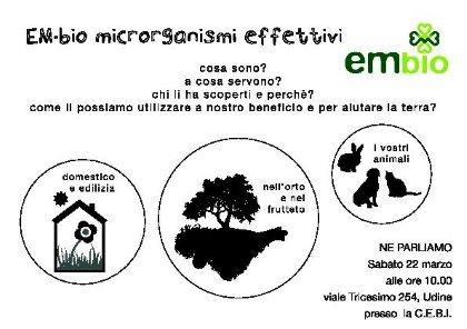 EM-bio microrganismi effettivi