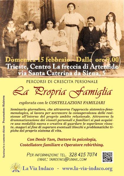 LA FAMIGLIA ESPLORATA ATTRAVERSO LE COSTELLAZIONI FAMILIARI SISTEMICHE