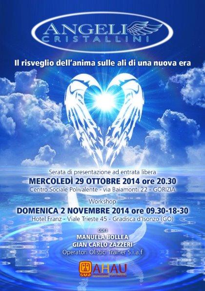 ANGELI CRISTALLINI - Il risveglio dell'anima sulle ali di una nuova era