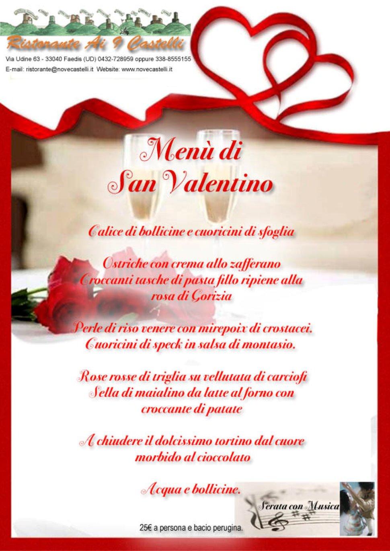 San Valentino Ai Nove Castelli