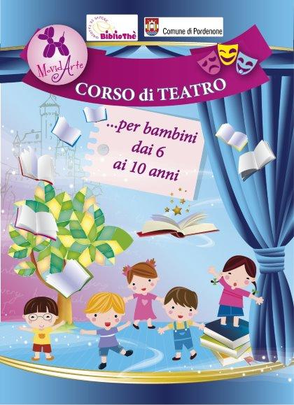 Corso di teatro per bambini da 6 a 10 anni