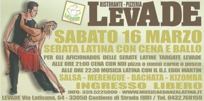 Serata Latina Con Cena e Ballo