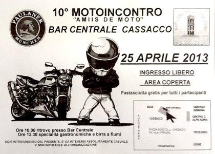 "10° MOTOINCONTRO ""AMIIS DE MOTO"""