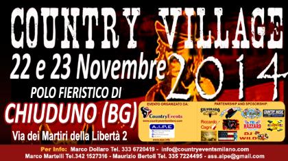 Country Village 2014 al Polo Fieristico di Chiuduno (BG)