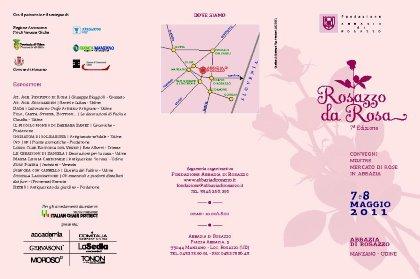 Rosazzo da Rosa 7^ ed. 7/8 maggio 2011