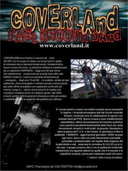 A NIGHT....WITH COVERLAND!