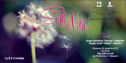 """Concerto """"Soffi di Vita"""""""